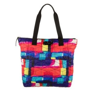 KATE SPADE NEW YORK Multi Color Nylon Quilted Tote
